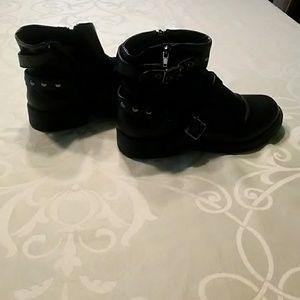 Women's Bongo biker boots size 8